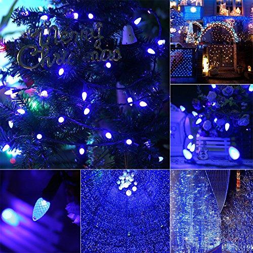 C3 Led Christmas Lights.Ul Listed Outdoor Led String Lights 18 Feet 50 Leds Mood Lighting Strands Diamond Strawberry C3 Bulbs Christmas Lights For Patio Garden Holiday