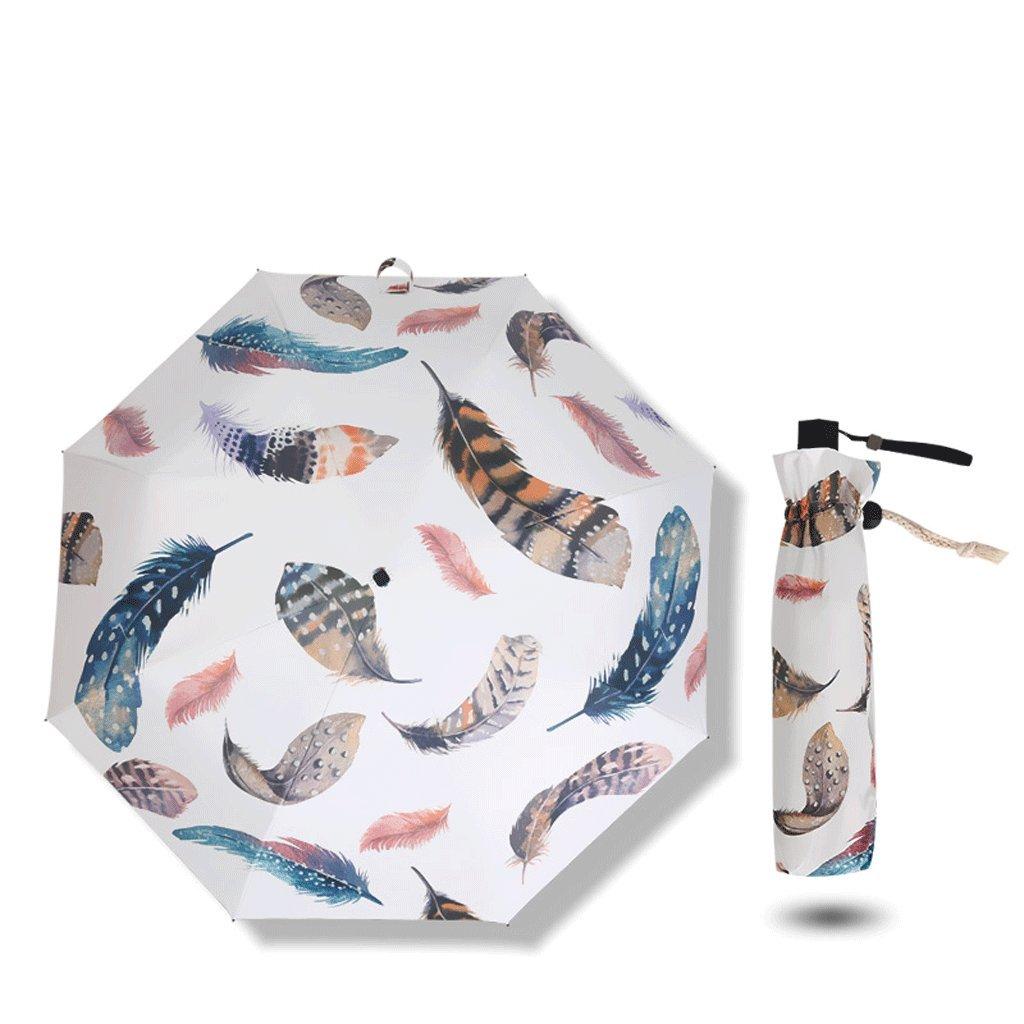 Ombrello Ombrellone Parasole Ultraleggero Pieghevole Ultraleggero Mini QIQIDEDIAN (Design   Hongyu)
