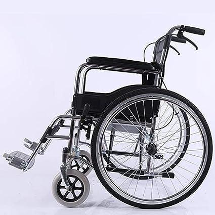 Aluminio ligeros en silla de ruedas, promover la silla de ruedas manual plegable para adultos