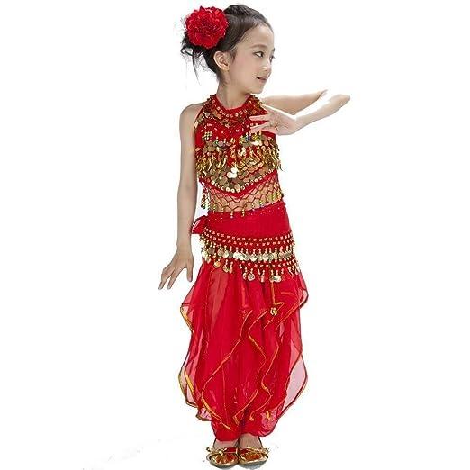 Amazon com: Pepper 5-Piece Children Belly Dance Costume