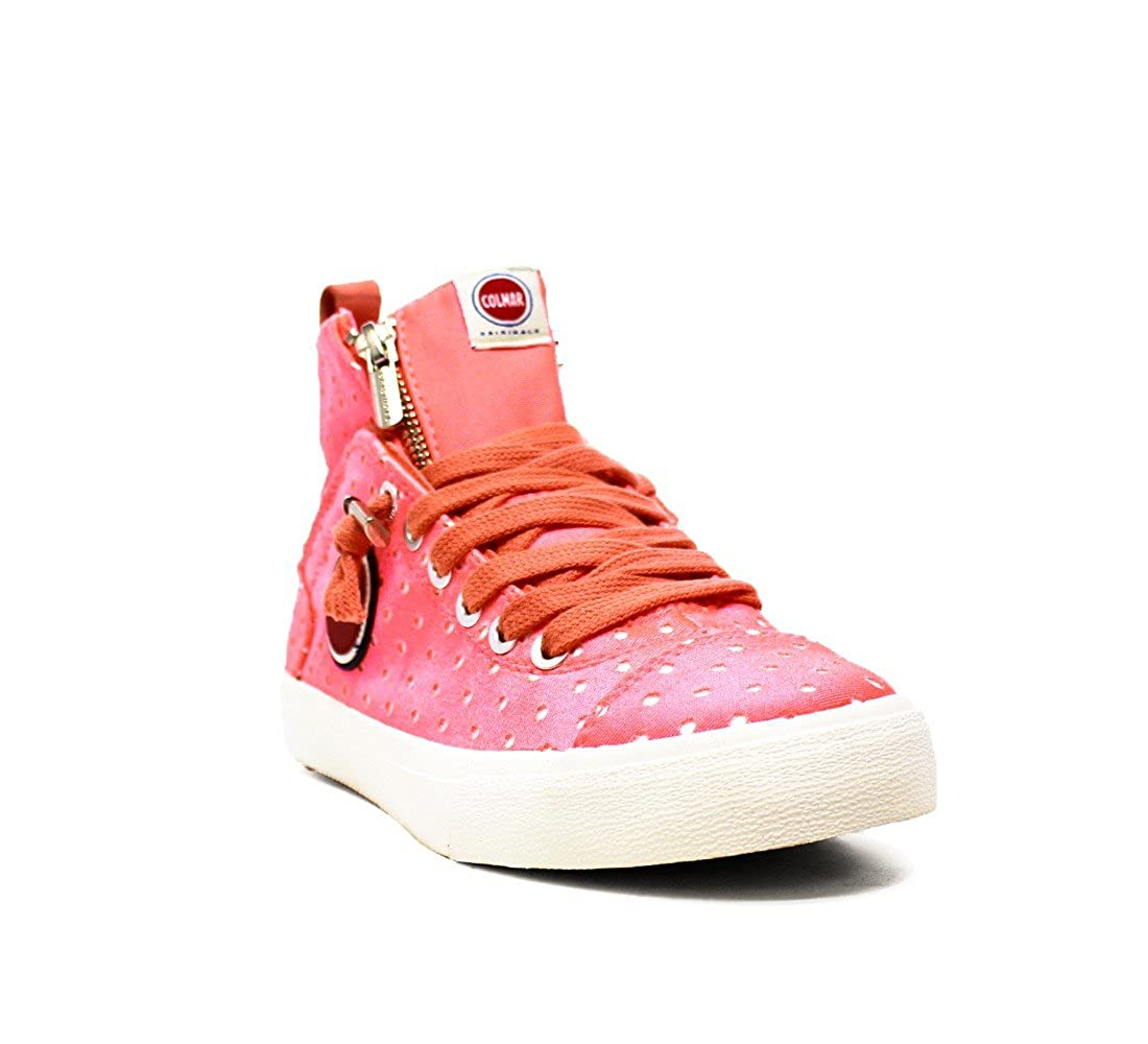 COLMAR 042 DUREN Future Damen Schuhe Schuhe Schuhe Turnschuhe FRÜHLING Sommer 2016 Stoff 042 DUREN Orange Future Weiss fb9291