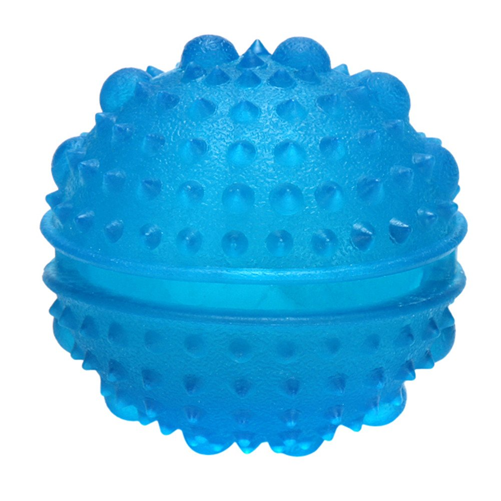 Pet Slow Feeder Food Spills Ball,Non-toxic Eco-friendly Rubber Dog Toy Smarter Interactive IQ Treat Ball