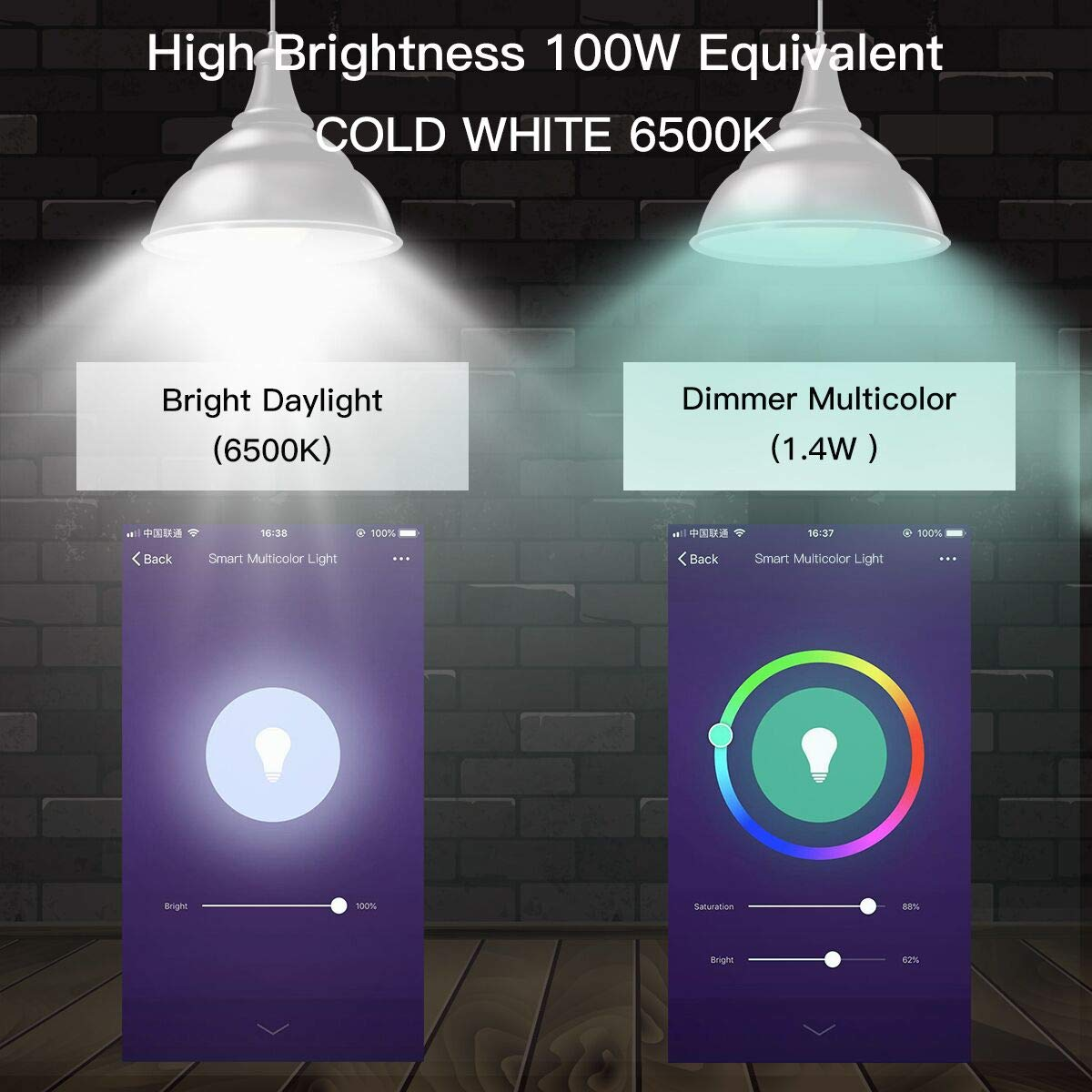 Manzoku 100w equiv multicolor WiFi smart LED bulb review