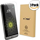LG G5 Screen Protector [Full Coverage],Yootech [Update Version] [3-Pack] [Anti-Bubble] [HD Ultra Clear Film] Edge to Edge PET Screen Protector for LG G5,Lifetime Warranty