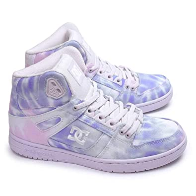 ff2800eec64884 Shoes DC Womens Pure HIGH-TOP TX SE Skate Shoe Clothing, Shoes & Jewelry