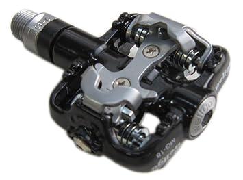 Wellgo magnesio Klick docup MG-18 Pedal con tacos 335 G Negro: Amazon.es: Deportes y aire libre