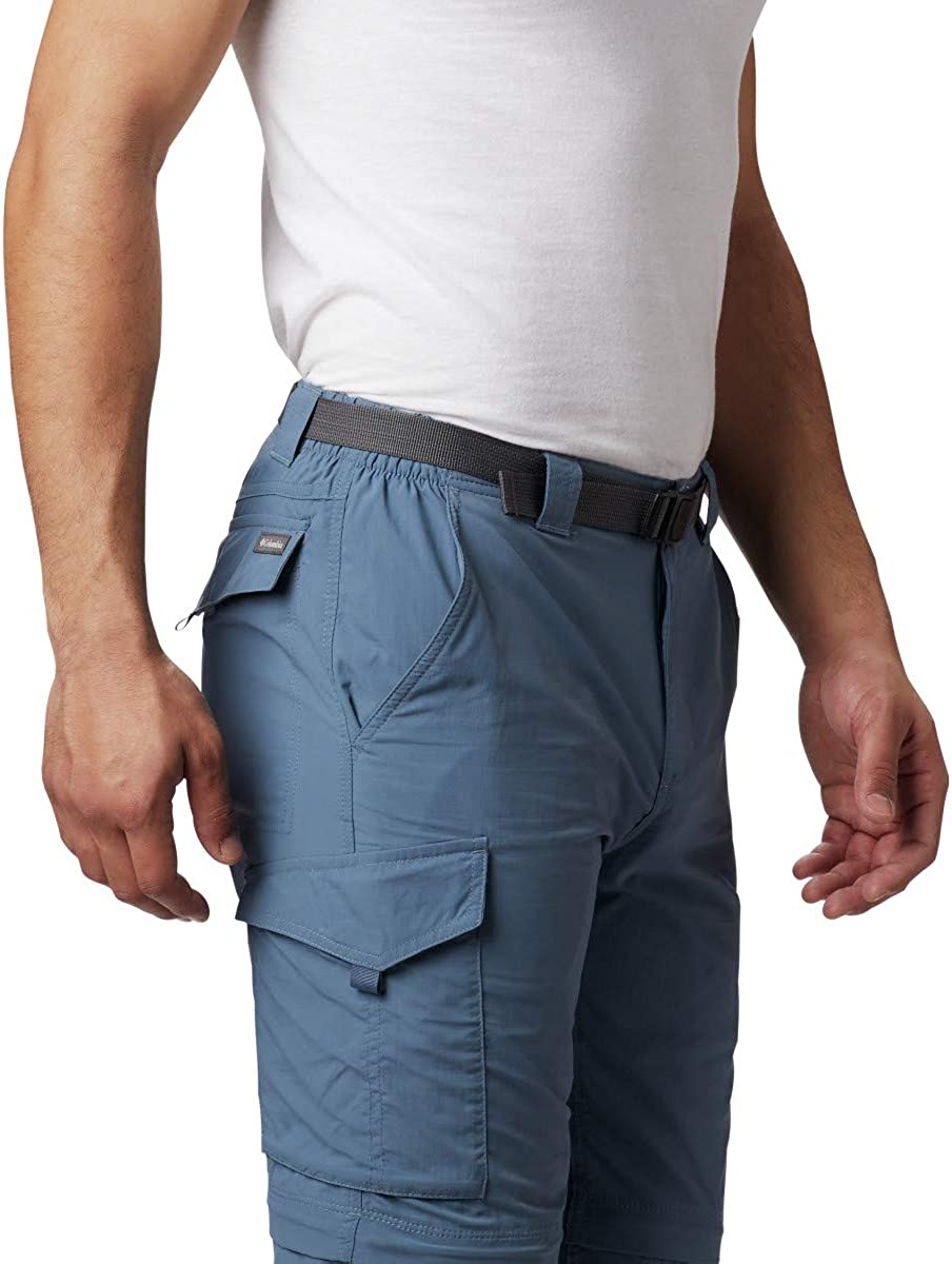 Columbia Mens Silver Ridge Convertible Pant UPF Breathable