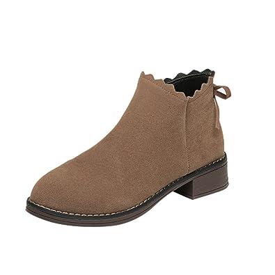 TPulling Herbst Und Winter Schuhe Mode Damen Herbstliche