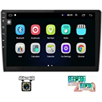 Hikity 10.1 Inch Android Car Stereo with GPS Double Din Car Radio Bluetooth FM Radio… photo