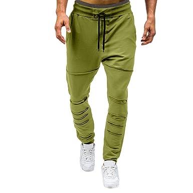 Pantalons De Hommes Décontractés Somesun Mode Trous Survêtement wPXN0OZnk8