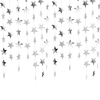 Sparkling Silver Banners Coloring Page Banners