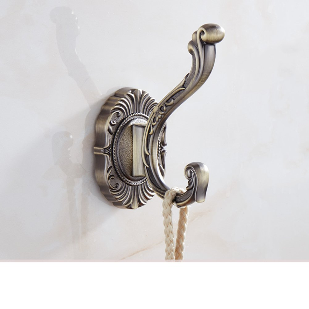 good continental hook/ antique hooks/ bathroom hooks/ wall hangings/coat and hat hook -E