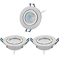 3IP44Foco LED empotrable Set con LED Spot Módulo