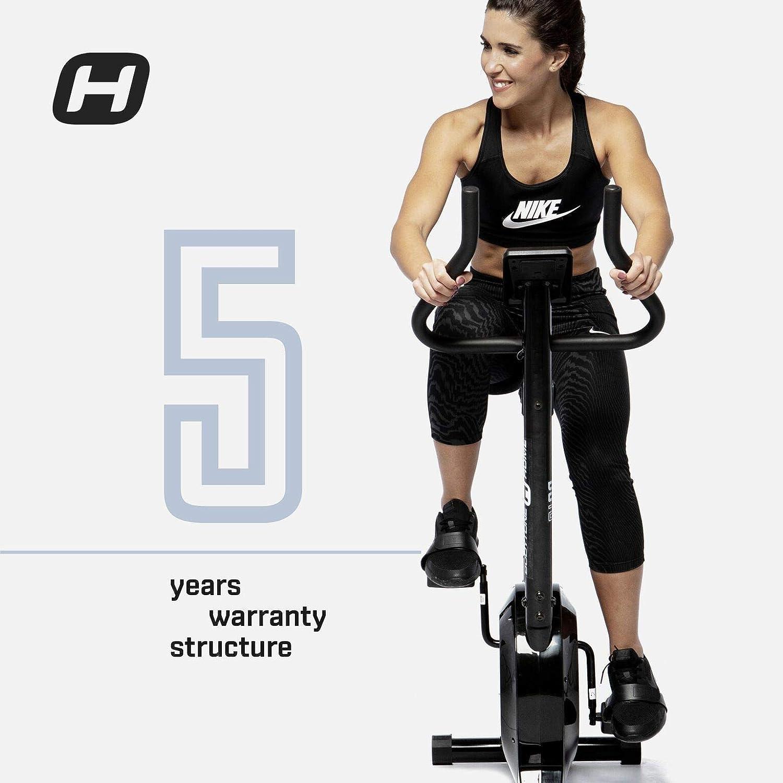 BT BODYTONE - DU-10 - Bicicleta Estática para Tus sesiones Fitness en casa - Pantalla Led y Pulsómetro - Peso Máximo Usuario 110 KG.: Amazon.es: Deportes y aire libre