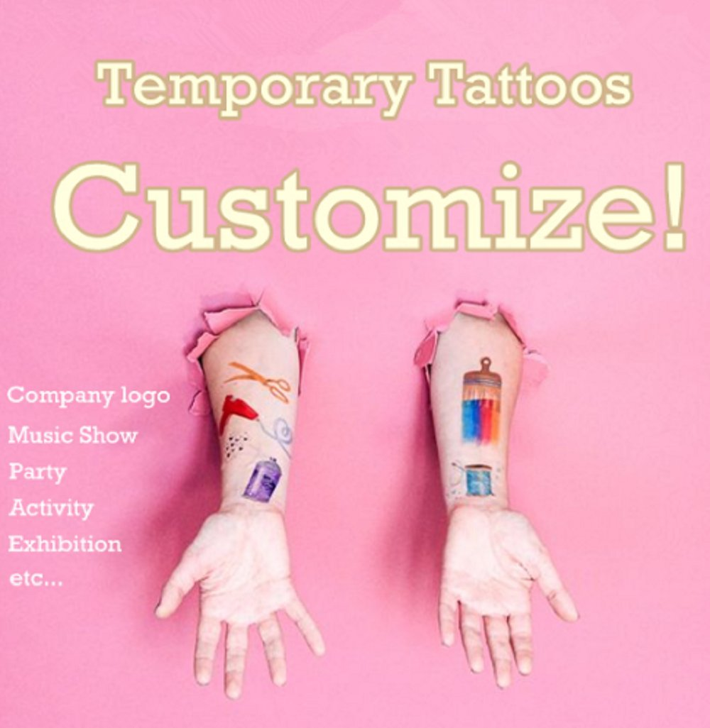 Buy Personalized OEM Temporary Tattoo Customize Tattoo Adorable ...