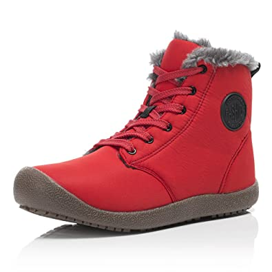 Snow Boots High Top Waterproof Outdoor Fur Lined Winter Warm Shoes Ankle Booties Sneaker For Men