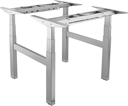 Marcos dobles SIN TAPA para construir escritorio doble con ajuste ...