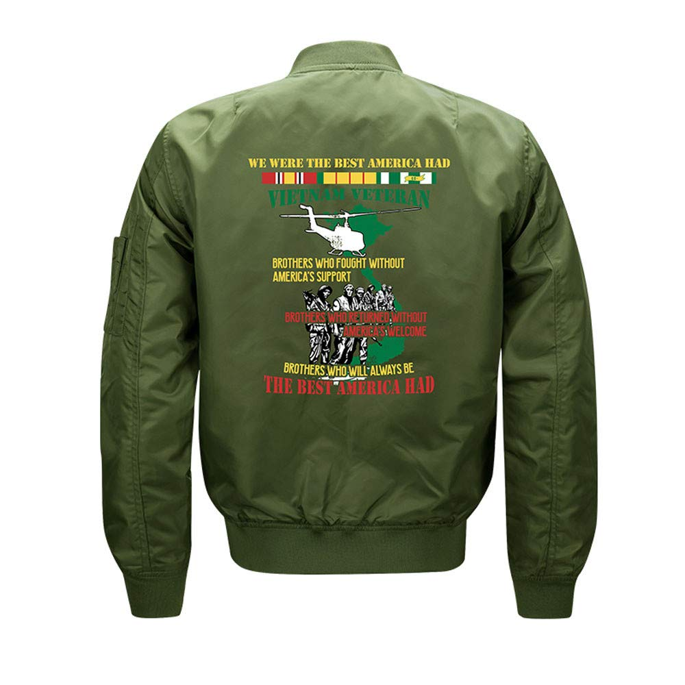 Thicken Letter Print Flight Outwear Autumn Winter Casual Stand Collar Long Sleeve Warm Tops OSTELY Mens Coat