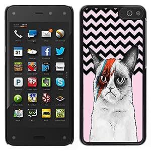 Dragon Case - FOR Amazon Fire Phone - Life is a pure flame - Caja protectora de pl??stico duro de la cubierta Dise?¡Ào Slim Fit