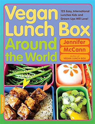 Download Vegan Lunch Box Around the World: 125 Easy, International Lunches Kids and Grown-Ups Will Love! pdf