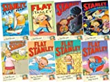 img - for Flat Stanley Collection, 8 books, RRP  32.92 (Flat Stanley; Stanley, Flat Again; Invisible Stanley; Stanley in Space; Stanley and the Magic Lamp; The Japanese Ninja Surprise; The Big Mountain Adventure; The Great Egyptian Grave Robbery) (Flat Stanley) book / textbook / text book