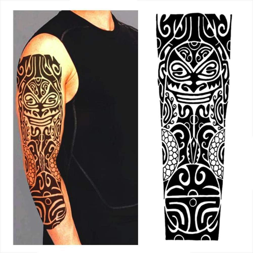 Tatuajes temporales maorí divinidad, para hombre y mujer, tatuaje ...