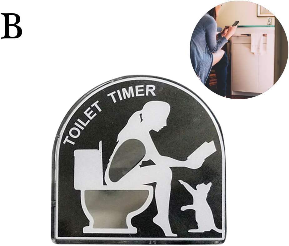 Surenhap WC Sablier pour Enfant avec minuterie 5 Minutes A