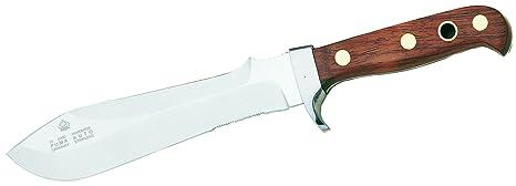 PUMA Automesser 1.4116 - Cuchillo de Caza (Acero Inoxidable, Mango de Madera de Ciruelo)