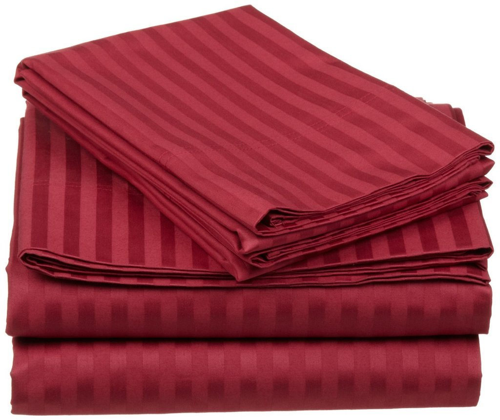 Hotel Luxury STRIPED Bed Sheets Set