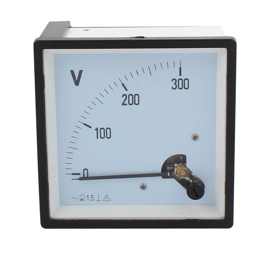 uxcell SQ-96 Class 1.5 AC 0-300V Voltage Analog Voltmeter Gauge Panel Volt Meter