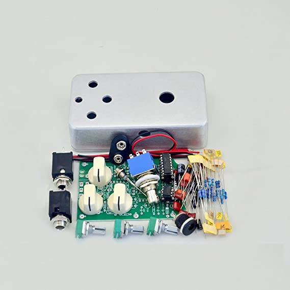 DIY Delay Guitar Effect Pedal All Kits With1590B And 3PDT 9PIN Switch