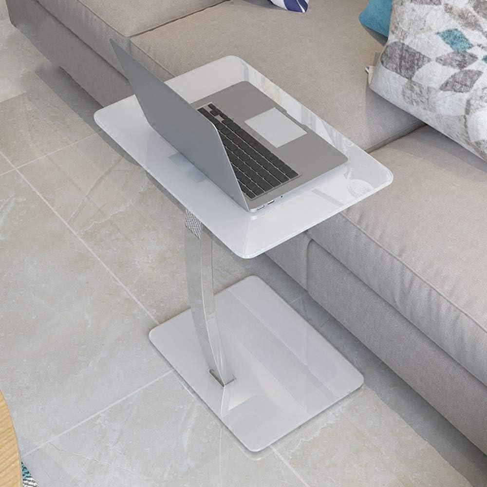 YNN Mesa Lateral de Cristal del Soporte del Ordenador portátil del ...