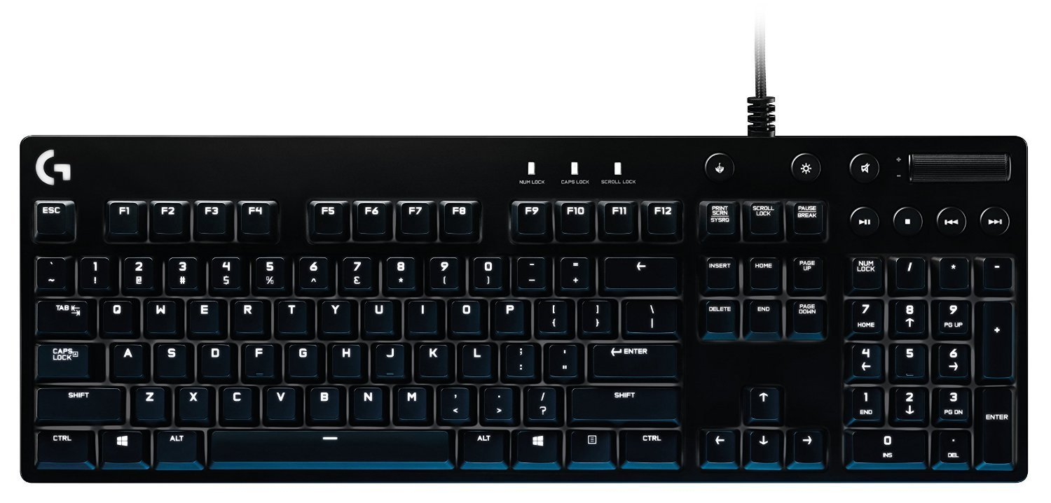 e0d4982677c Logitech G610 Orion Red Backlit Mechanical Gaming Keyboard: Amazon.co.uk:  Computers & Accessories