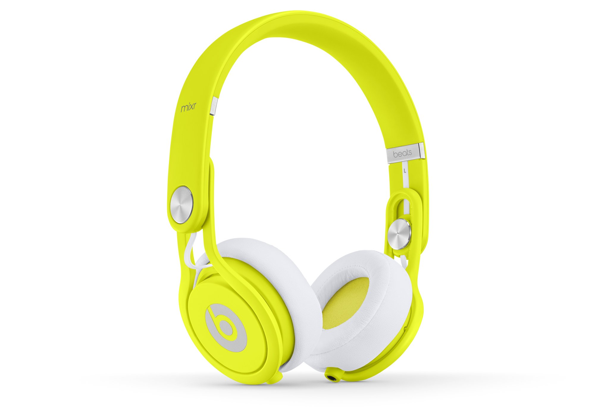 Beats Mixr Wired On-Ear Headphone - Neon Yellow (Discontinued by Manufacturer) by Beats