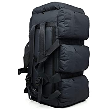 90L Large Capacity Men s Military Tactical Backpack Waterproof Oxford Hiking  Camping Backpacks Wear-resisting Travel 163f7714aedd3