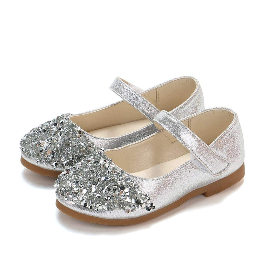 cdae62b4972d Zapatos para Niñas Otoño Invierno 2018 Moda PAOLIAN Calzado de Bailarinas  Danza Suela Blanda Antideslizante Zapatos de Vestir ...