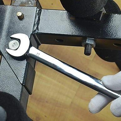 WUPYI2018 Valise /à outils en chrome vanadium pour cl/é plate /à cliquet articul/ée 6 /à 32 mm Pour 22 pi/èces