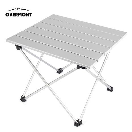 Wht Mini Table Camping Pliante En Aluminium Avec Sac De
