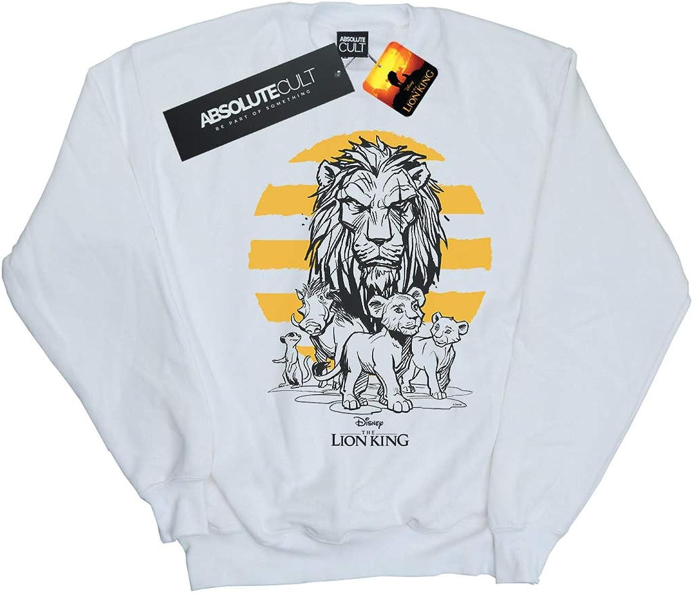 Disney Boys The Lion King Movie Group Sweatshirt