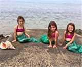 XonyiCos Kids Girls Women Adult Sparkle Mermaid