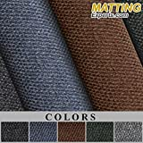 MattingExperts Entrance Runner Mat Water Absorbing Area Carpet-like Nibbed for Entryways Lobbies Hallway Office Hotel 1/4 thick S059 (2'x3', Hunter Green)