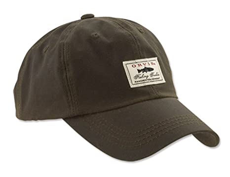 51bbaa882fa Orvis Vintage Waxed-cotton Ball Cap at Amazon Men s Clothing store  Novelty  T Shirts