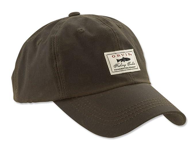 51bbaa882fa Orvis Vintage Waxed-cotton Ball Cap at Amazon Men s Clothing store  Novelty  T Shirts