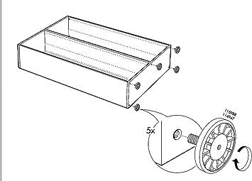 Hettich Pied De Meuble Reglable De Ikea Couleur Gris Fischer