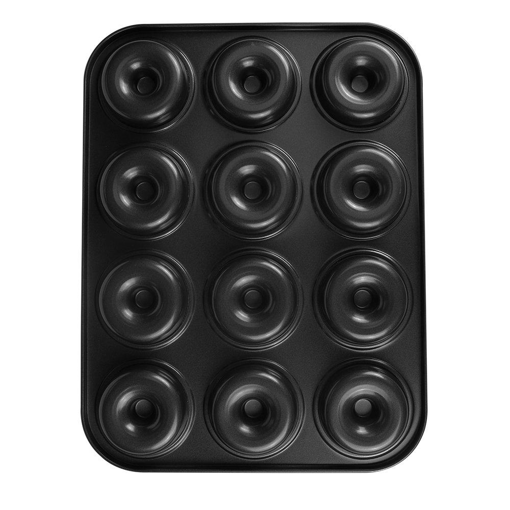 Webake Extra Thick Donut Pan 12-cavity 2.8'' Non-stick Medium Size (Donut pan) by Webake (Image #6)