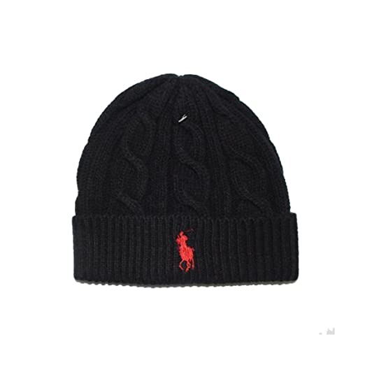 Generic Beanie Skull Cap Hip Hop Lambs Wool Men Women Polo Color Knit  Winter Ha (Black Red) at Amazon Women s Clothing store  40bb1d5fa9d