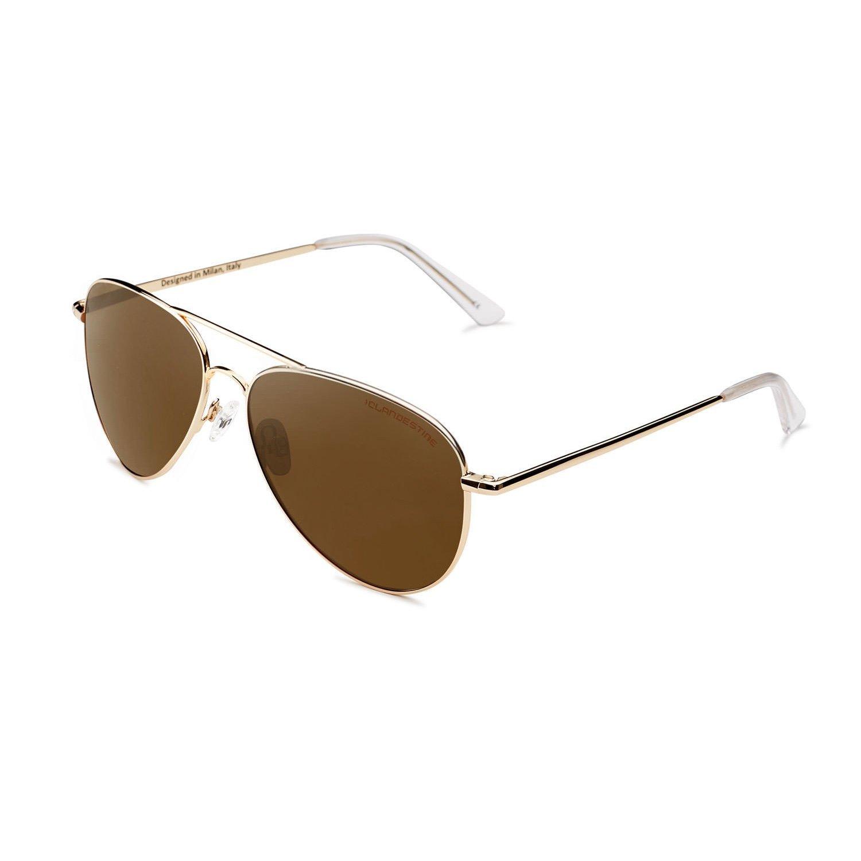 CLANDESTINE Aviator - Gafas de Sol Polarizadas Hombre & Mujer 1998