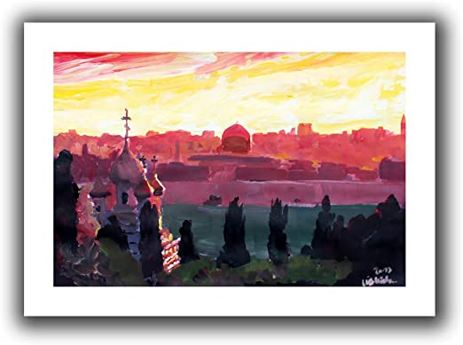 24 by 32-Inch ArtWall Martina and Markus Bleichner Munich Night Gallery-Wrapped Canvas Artwork