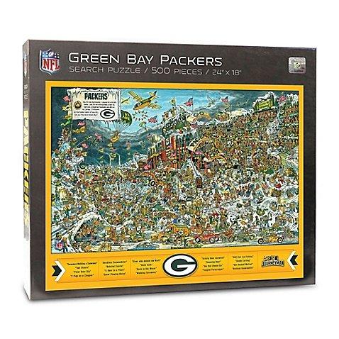 Joe Journeyman NFL Green Bay Packers Jigsaw Puzzle, 500-Piece