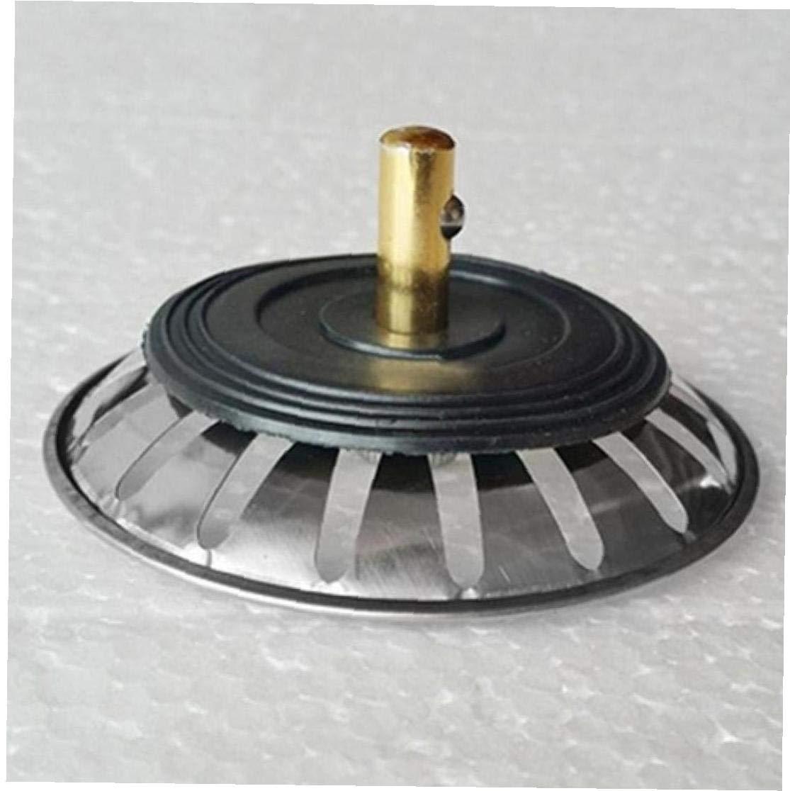 Angoter Acero Inoxidable Nuevo Fregadero de Cocina colador tap/ón tap/ón de la Pila de residuos Filtro Filtre Lavabo Ba/ño Receptor de Pelo Accesorios de Cocina